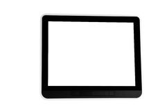 Black tablet pc Royalty Free Stock Photo