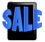 Black tablet pc on sale Stock Photography