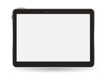 Black Tablet PC Vector Illustration Royalty Free Stock Image