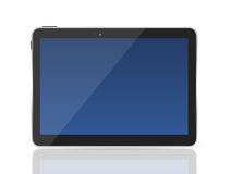 Black Tablet PC Vector Illustration Stock Image