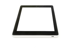 black tablet Stock Image