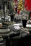 Black tabletop Royalty Free Stock Photos
