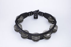 Black Tambourine Royalty Free Stock Images