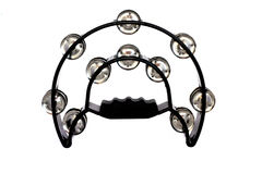 Black Tambourine Royalty Free Stock Image