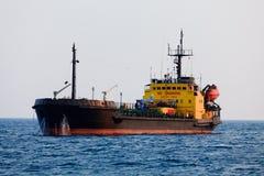 Black tanker Stock Photography