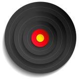 Black target Royalty Free Stock Image