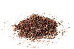 Black Tea. On white background Royalty Free Stock Photos