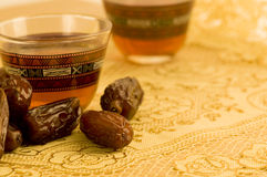 Black tea_2 cups Stock Images