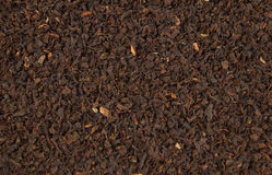 Black tea. Close-up of dry black tea Stock Photography