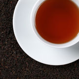 Black Tea from above Royalty Free Stock Photos