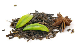 Black tea anise Royalty Free Stock Photos