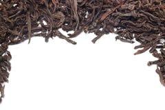 Black tea background Stock Photo