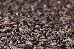Black tea background Royalty Free Stock Image