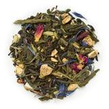 Black tea bergamot orange Stock Photos