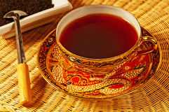 Black tea of Ceylon Royalty Free Stock Image