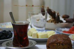 Black Tea on Iftar Royalty Free Stock Photos