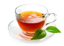 Black tea. Isolated on white background Stock Photo