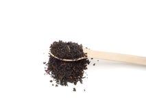 Black tea is isolated. Stock Photos