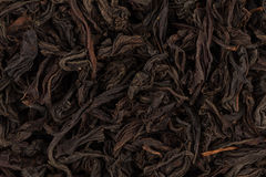 Black tea leaves close up Royalty Free Stock Image