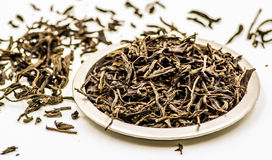 Black tea leaves Royalty Free Stock Images