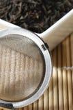 Black tea leaves Royalty Free Stock Photos