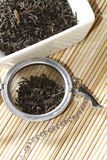Black tea leaves Stock Photography