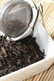 Black tea leaves Stock Image