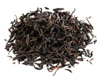 Black tea loose dried tea leaves Stock Photography