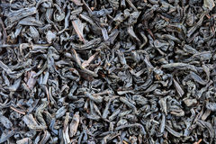 Black tea macro Royalty Free Stock Image
