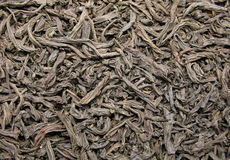 Black tea texture stock image