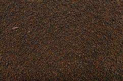 Black tea texture Stock Images