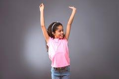 Black teenage girl Royalty Free Stock Photography
