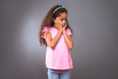 Black teenage girl Stock Images