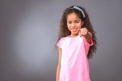 Black teenage girl Stock Image