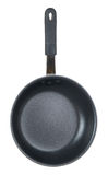 Black Teflon cooking pan Royalty Free Stock Image