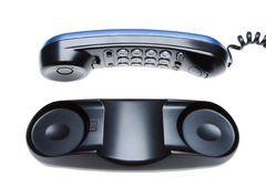 Black telephone Royalty Free Stock Photos