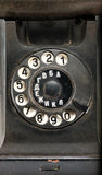 Black telephone Royalty Free Stock Image