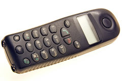 Black telephone Royalty Free Stock Photography