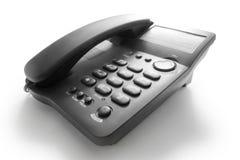 Black telephone Stock Photos