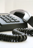 Black telephone Royalty Free Stock Images