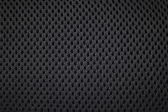 black textile background Stock Image