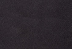 Black textile fabric Stock Photos
