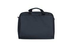 Black textile laptop briefcase Stock Photos