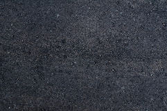 Black texture of new asphalt Royalty Free Stock Image