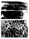 Black texture, vector Stock Photos
