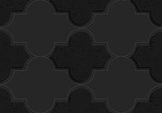 Black textured plastic basic Marrakech Royalty Free Stock Images