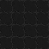 Black textured plastic diagonal bulbs Stock Photography