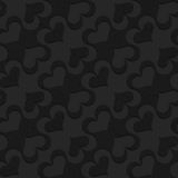 Black textured plastic diagonal spades Royalty Free Stock Image