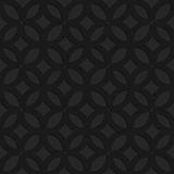 Black textured plastic irregular grid with circles Royalty Free Stock Photography