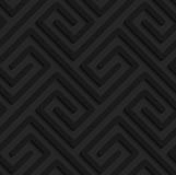 Black textured plastic rectangle spirals fastened Royalty Free Stock Images